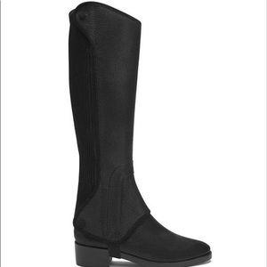 NEW Tory Burch Milburn Black Riding Boots 5.5